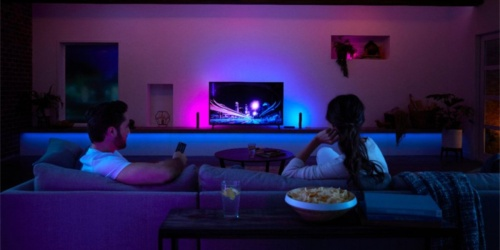 Philips Hue Play Starter Kit Just $99.99 Shipped (Regularly $150) + Free $50 Best Buy eGift Card