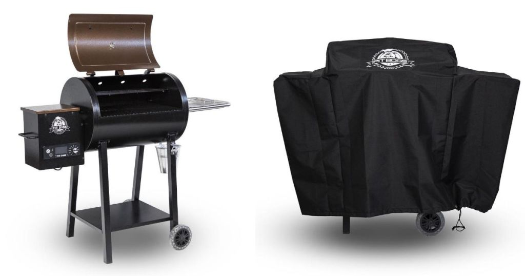 Pit Boss Pelet Grill with cover