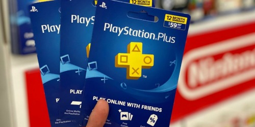 PlayStation Plus 1-Year Digital Membership Just $27.89 (Regularly $60)