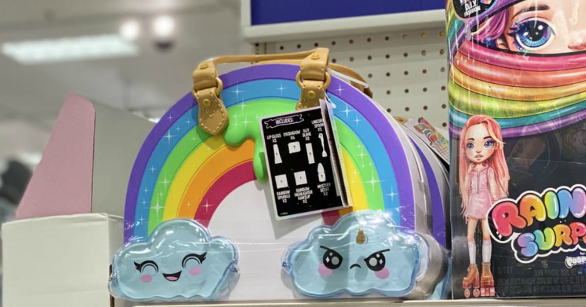 Slime Surprises Rainbow Unicorn FREE SHIP NEW POOPSIE  CLAW MACHINE  FIGURES