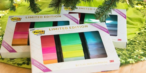 Super Sticky Post-it Notes Limited Edition Collection Only $12.99 on Amazon (Just 87¢ Per Pad)