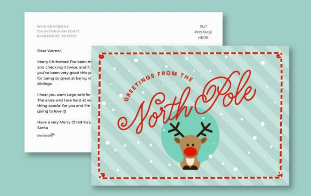 Postcard from the North Pole