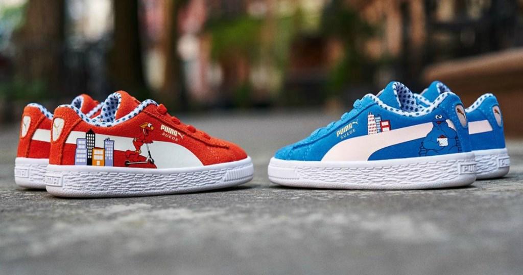 Puma Suede Sesame Street Shoes