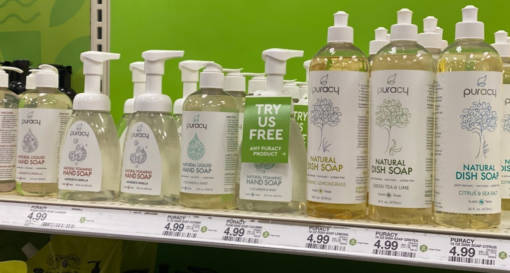 Puracy products at Target