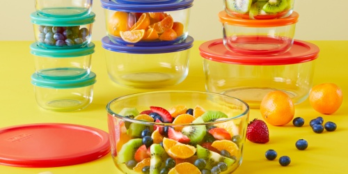 Pyrex 24-Piece Glass Food Storage Set Possibly Only $8.76 at Walmart (Regularly $30)