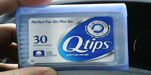 Q-Tips 30-Count Purse Pack Only 59¢ at Target or Amazon