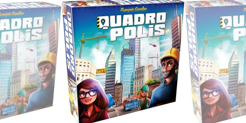 Quadropolis Board Game Only $24.84 at Amazon (Regularly $50)