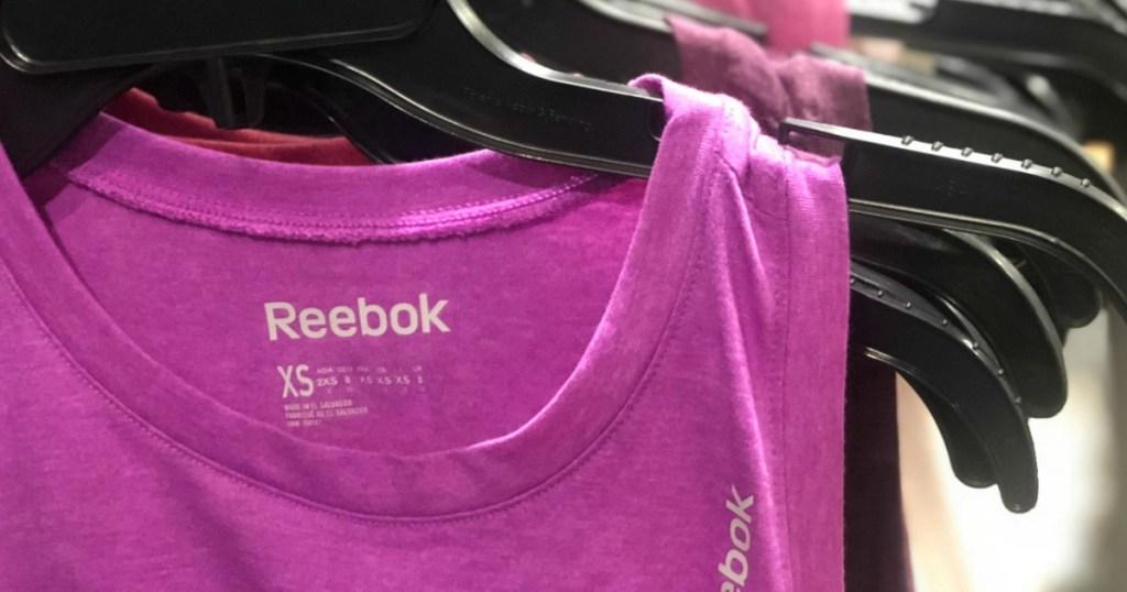 Reebok Women's Tank on hanger