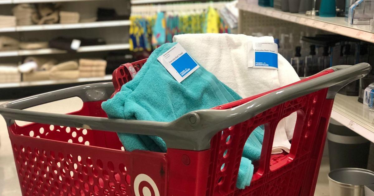 Room Essentials bath towels