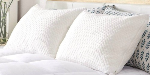 Sable Memory Foam Pillows 2-Pack Only $29.99 Shipped at Amazon