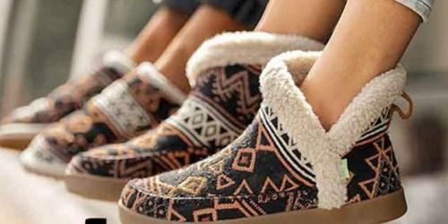 Sanuk Women's Slipper Boots Only $29.99 at Zulily (Regularly $80)