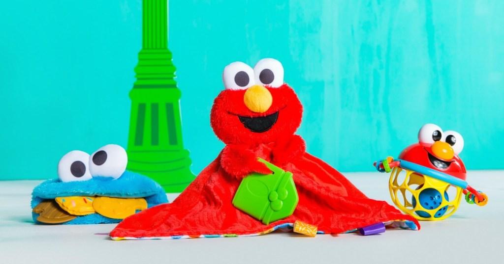 Sesame Street Baby Gift Set Toys