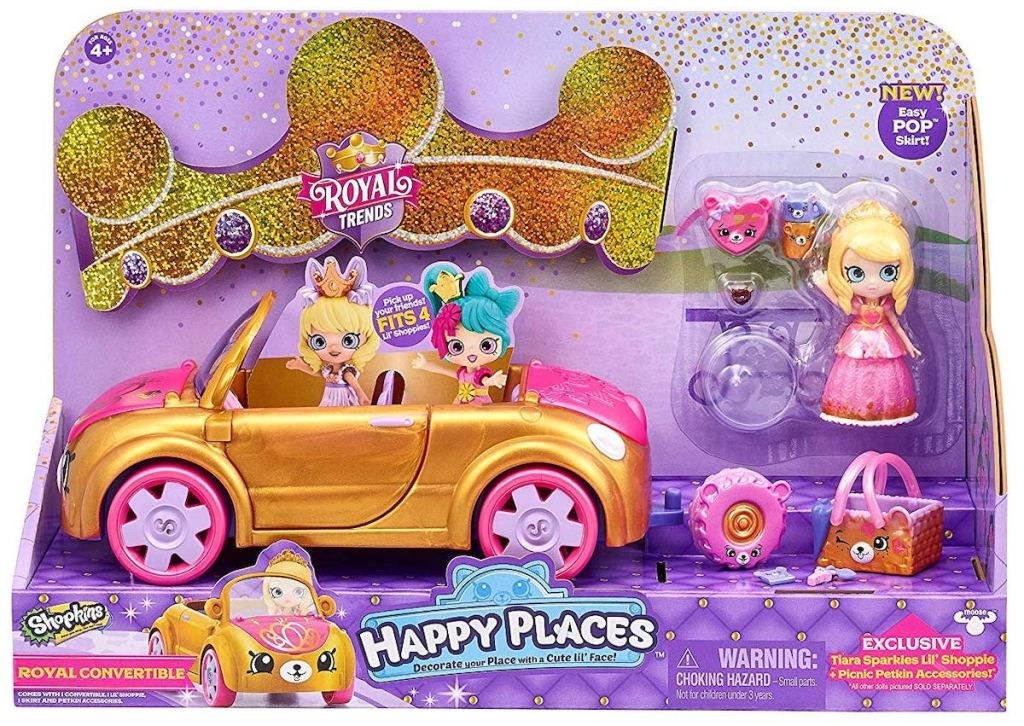 Shopkins Happy Places Royal Convertible in box