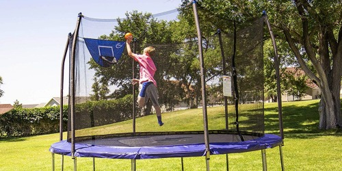 Skywalker Trampolines 12-Foot Jump N' Dunk Trampoline Only $159.99 Shipped at Amazon