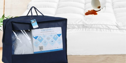 Sleep Mantra Mattress Toppers as Low as $33.99 Shipped at Amazon