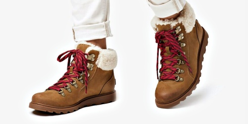Sorel Women's Ainsley Conquest Cozy Boots Only $90 Shipped (Regularly $180)
