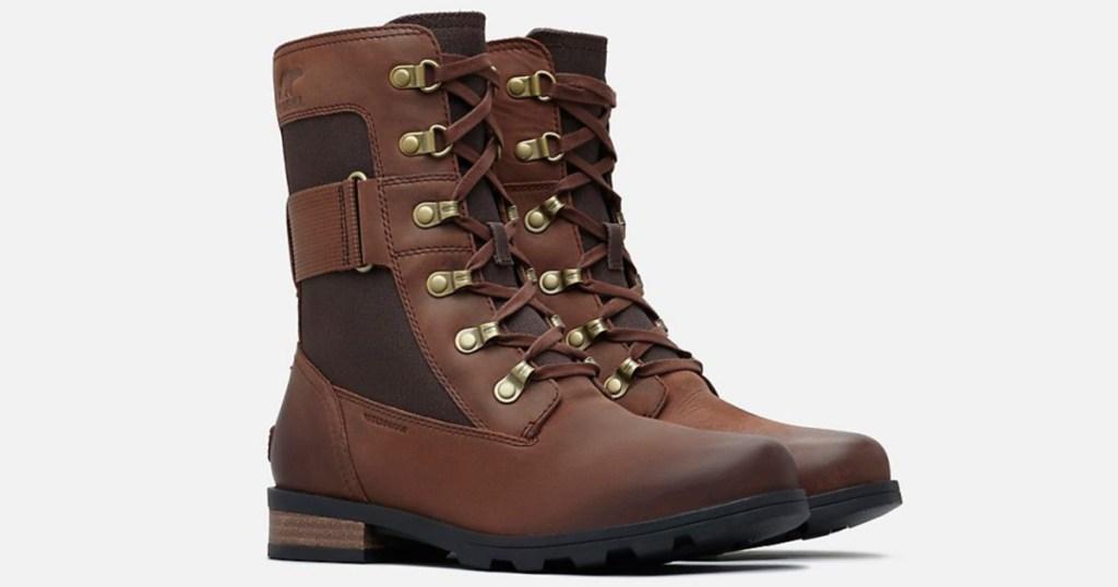 pair of women's sorel boots