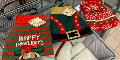 St. Johns Bark Pet Clothes as Low as $6.79 at JCPenney (Regularly $22+) | Sweater & Jacket