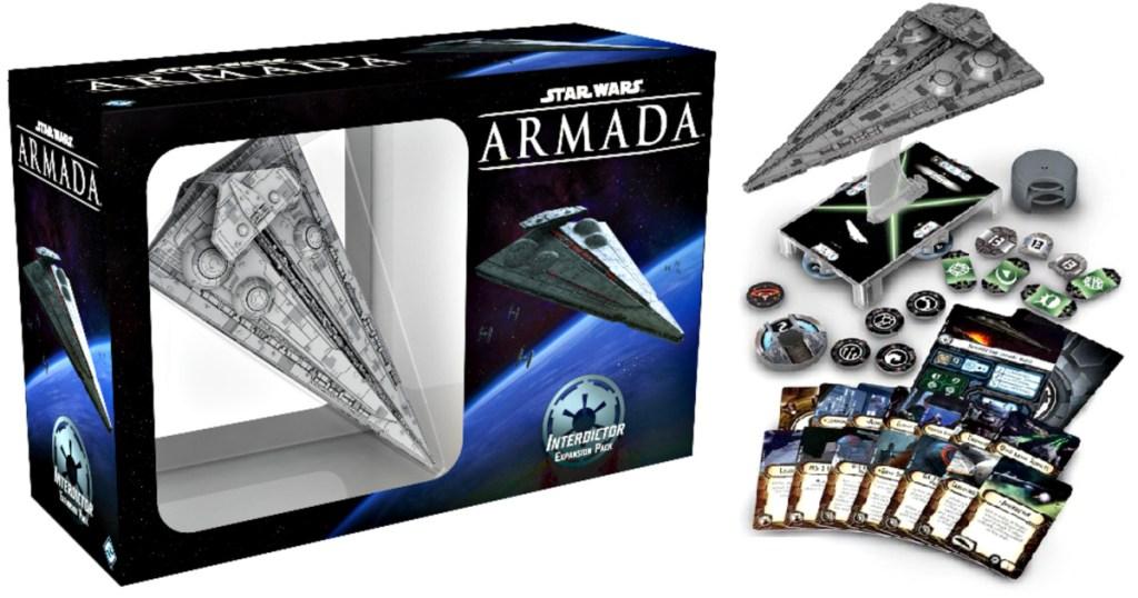 Star Wars Armada Interdictor Class Star Destroyer Expansion