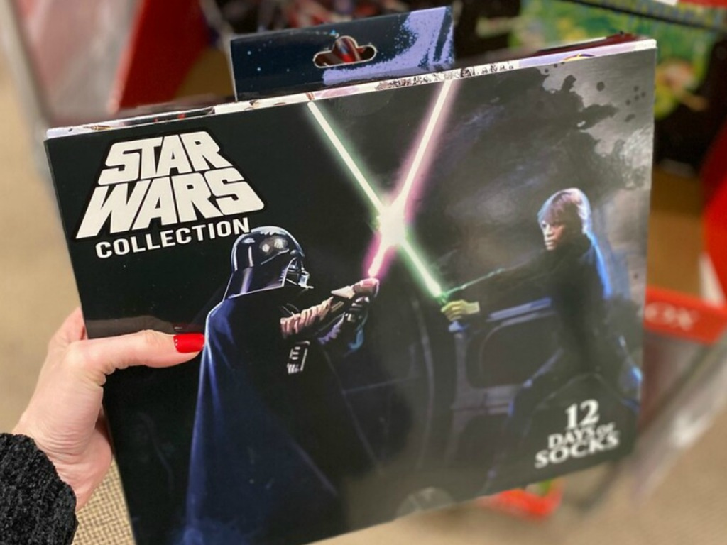 12 Days of Socks Star Wars themed