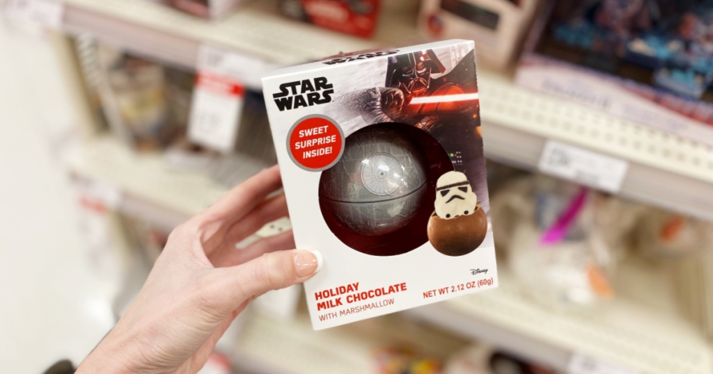 Star Wars Chocolate Death Star W Stormtrooper Marshmallow Only 2 99 At Target