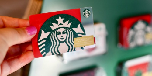 $10 Starbucks eGift Card JUST $5 (Select Groupon Email Subscribers Only)
