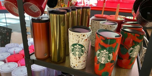 50% Off Starbucks Tumblers, Mugs & More at Target
