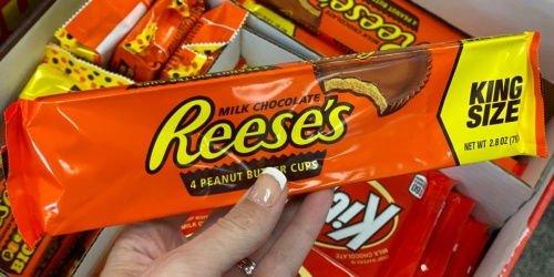 Hershey's King Size Candy Only 88¢ After CVS Rewards | Great Last-Minute Stocking Stuffer