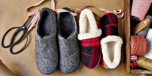 40% Off TOMS Slippers   Includes Cute Holiday Prints