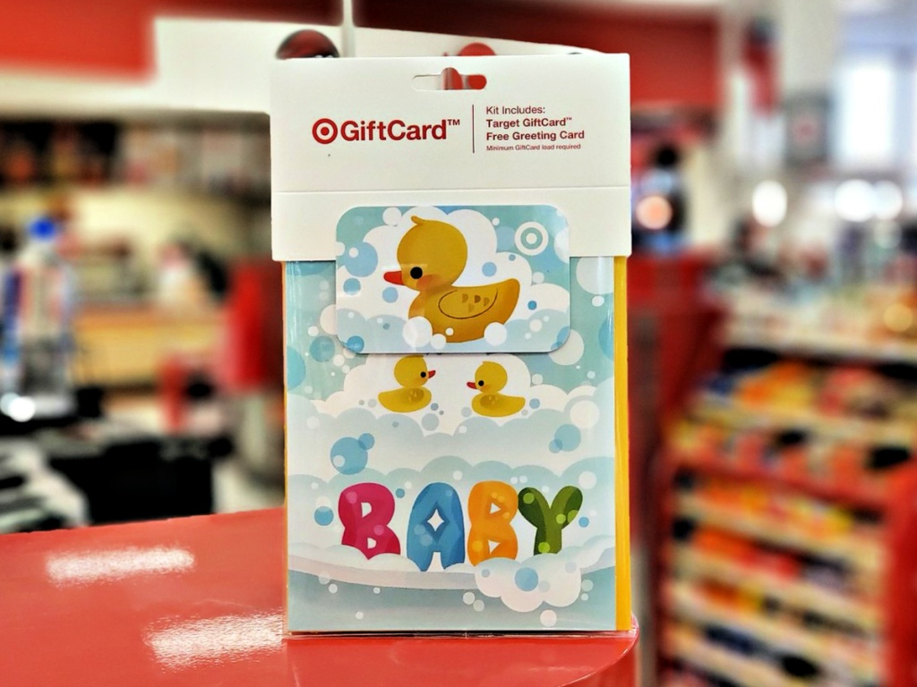 Target Birthday Ducky GiftCard + Free Greeting Card