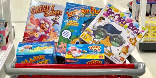 Up to $25 Off Toys & Games Target Coupon | Starting 12/8