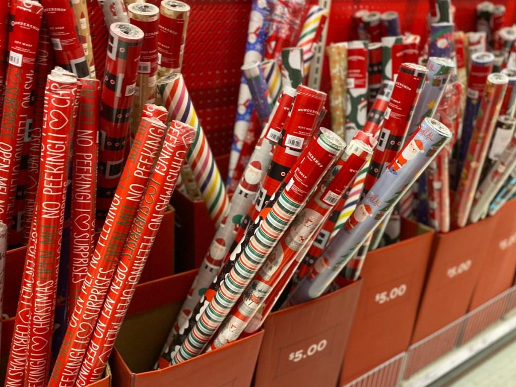 Target Holiday Christmas Gift Wrap