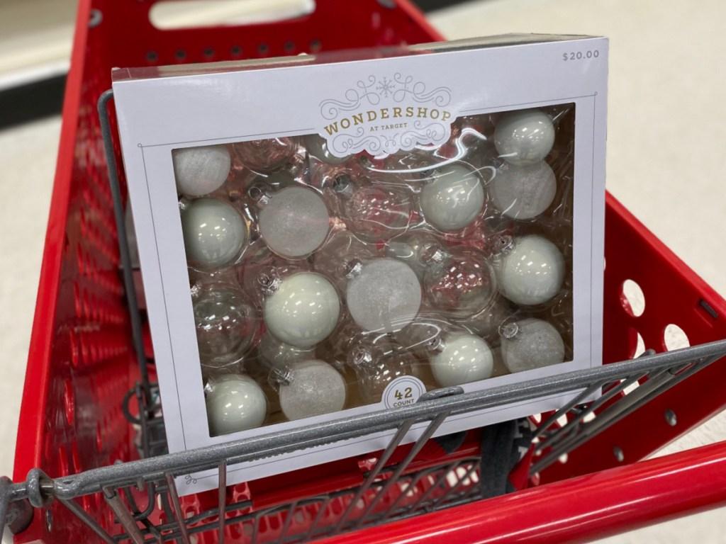 Wondershop Holiday Ornaments at Target