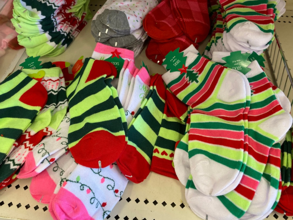 Target Holiday Socks for Adults