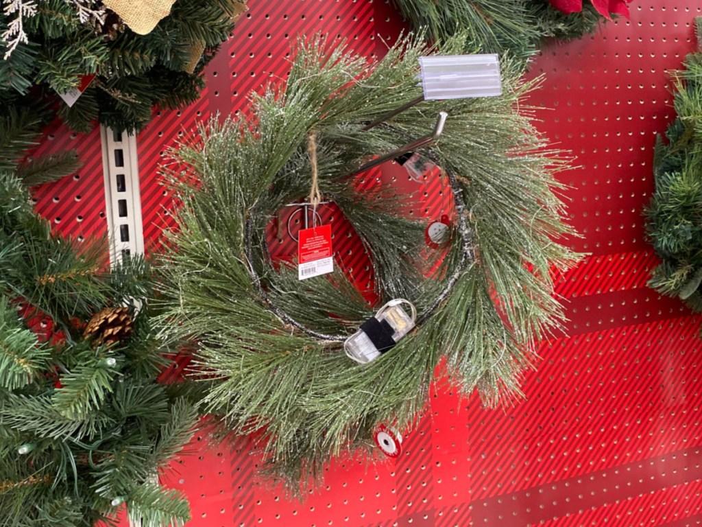 Target Wondershop Lit Wreath