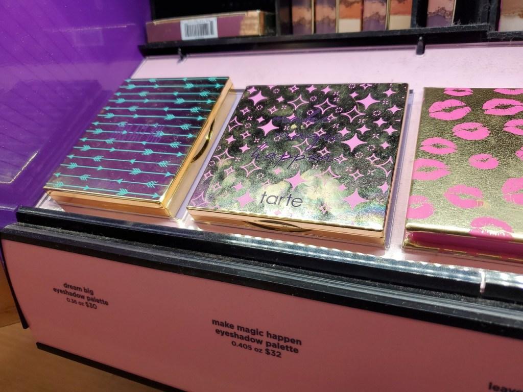 Tarte Make Magic Happen Palette on display at Ulta