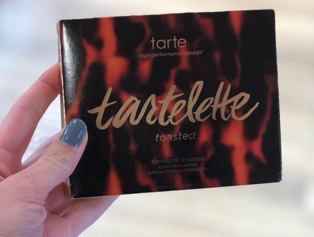 Tarte Toasted Palette in-hand in store