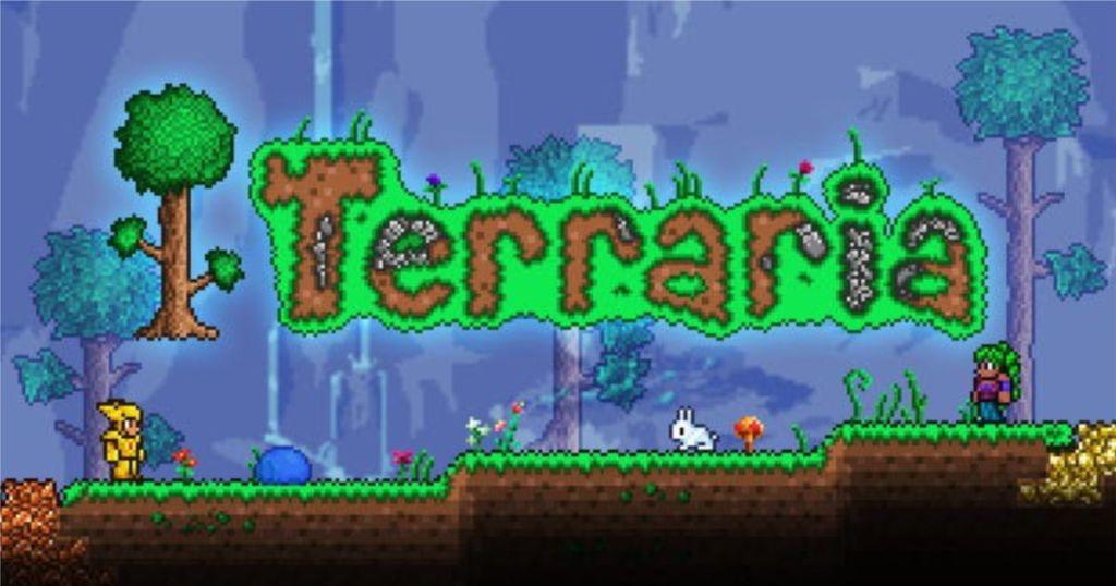 terraria game screen