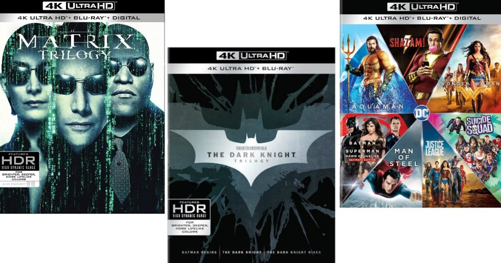 The Matrix Trilogy 4k Ultra Hd Blu Ray Digital Only 35 76 Shipped At Amazon Regularly 71 Hip2save