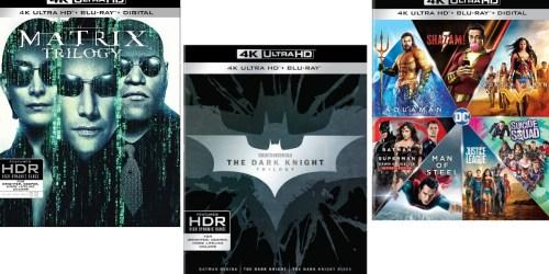 The Matrix Trilogy 4K Ultra HD + Blu-ray + Digital Only $35.76 Shipped at Amazon (Regularly $71)