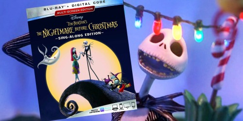 The Nightmare Before Christmas 25th Anniversary Edition Blu-ray + Digital Only $7.50 Shipped at Target