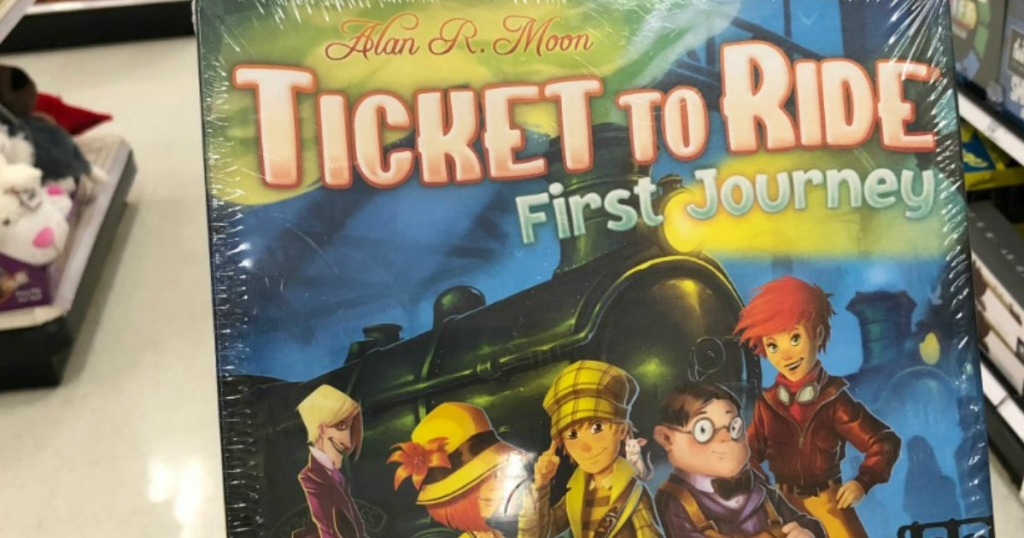 Ticket to Ride First Journey box