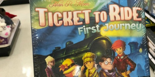 Ticket to Ride: First Journey Board Game Only $13.99 at Woot.com (Regularly $35)