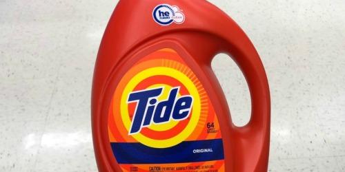 Tide 92oz Laundry Detergent Only $8.97 on Amazon | Original or Free & Clear