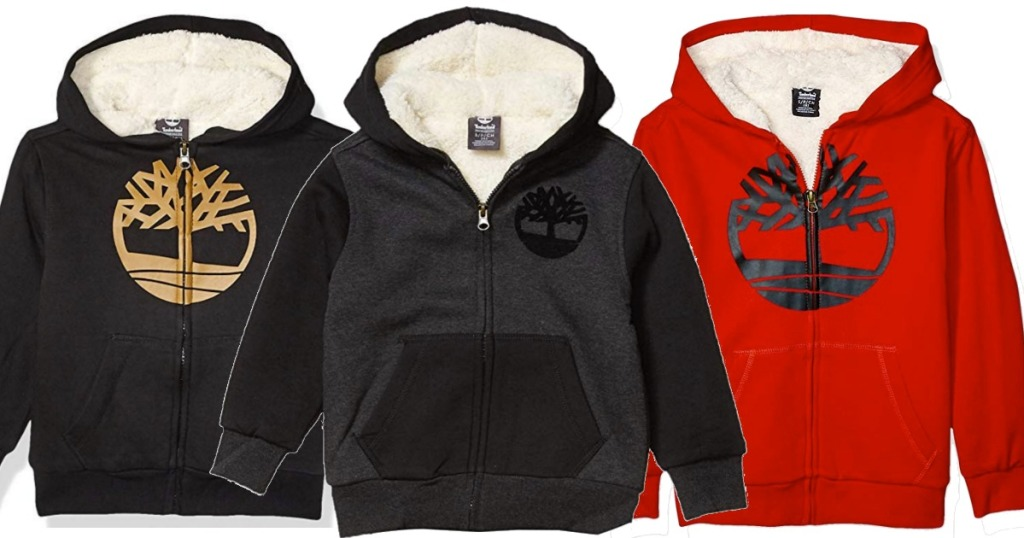 TImberland Boys Hoodies in three colors