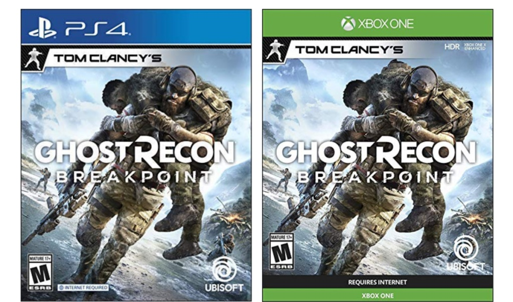 tom clancy's ghost recon breakpoint ps4 and xbox one