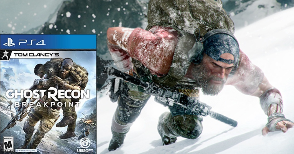 tom clancy's ghost recon game and screen shot of game