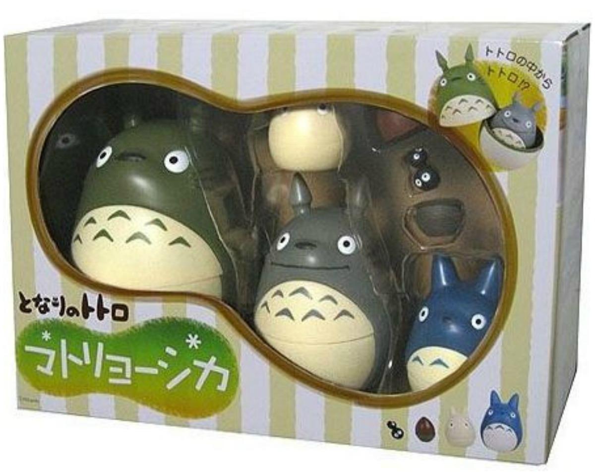 Totoro Nesting Dolls in package