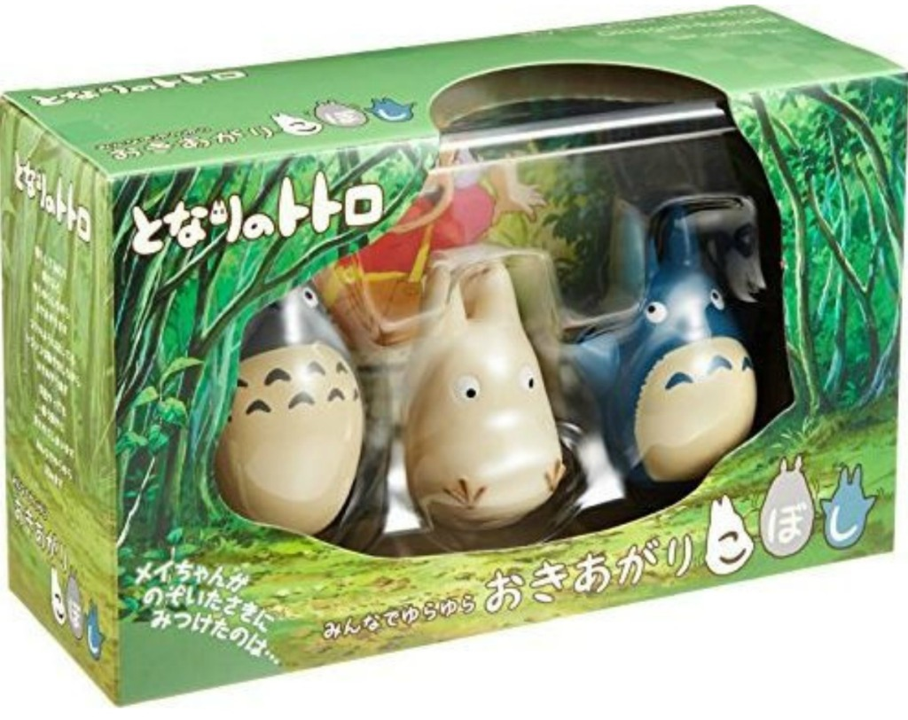 Totoro Tilting Figure Collection in package