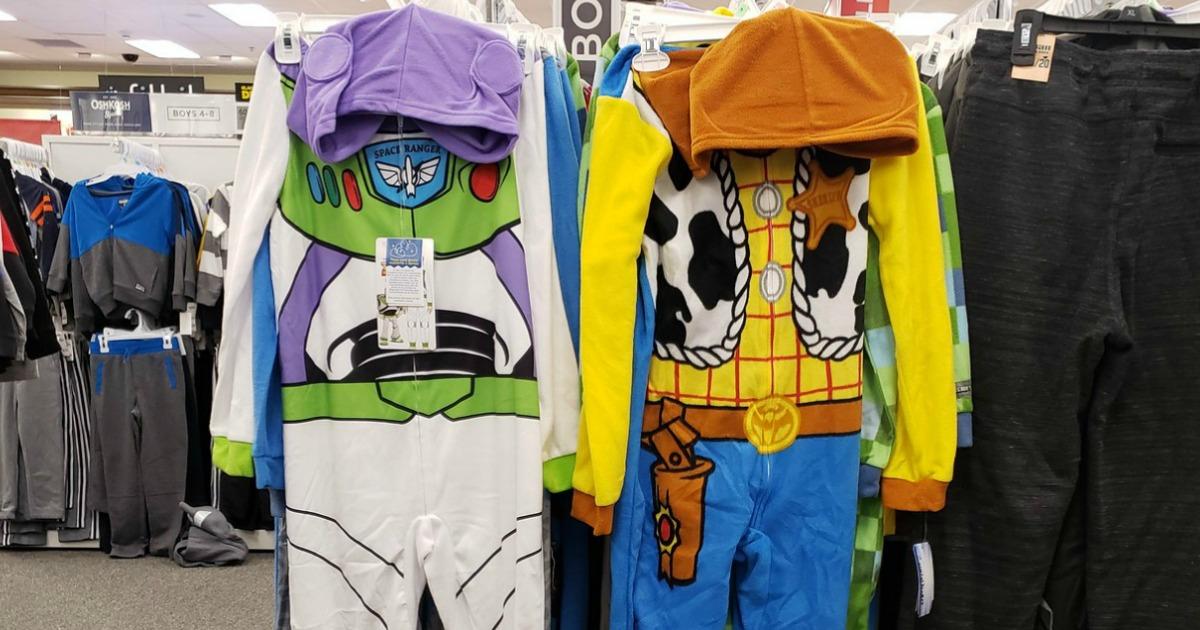 Toy Story One-Piece Pajamas